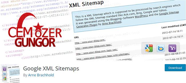 Google XML Sitemaps Wordpress Eklenti