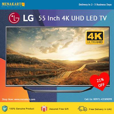 LG 55 Inch 4K UHD LED TV (55UF671T)