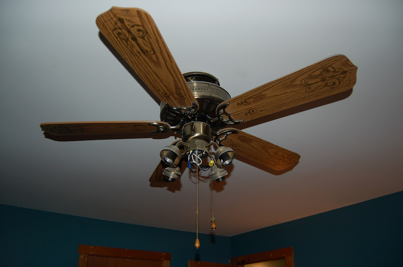 The Buddy Bee Makes Three House Project Bedroom Ceiling Fan