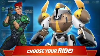 Download Forge of Titans: Mech Wars Apk