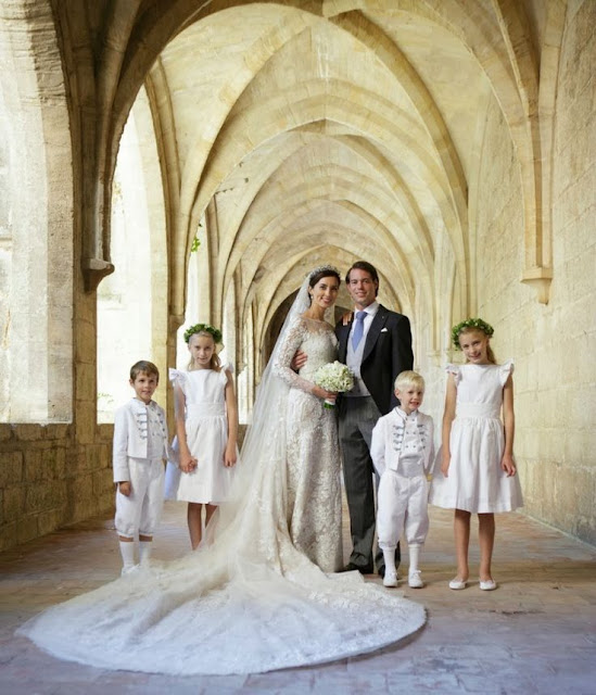 Wedding of Prince Felix and Claire Lademacher -  Official Photos