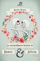 """Portada del libro """"La extraordinaria historia de Romeo y Julieta"""", de Nacho Bravo"""