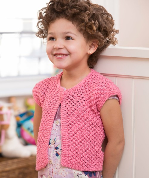 Little Girl Shrug - Free Pattern