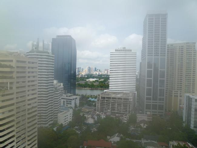 Contaminación en Bangkok