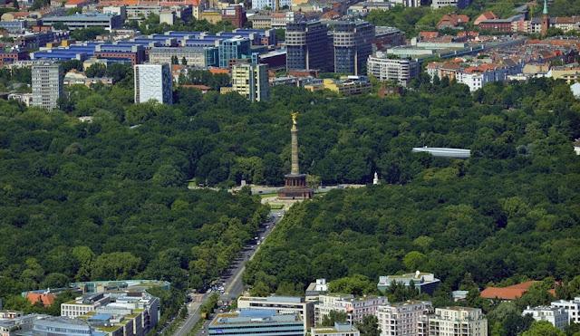 Região de Tiergarten em Berlim