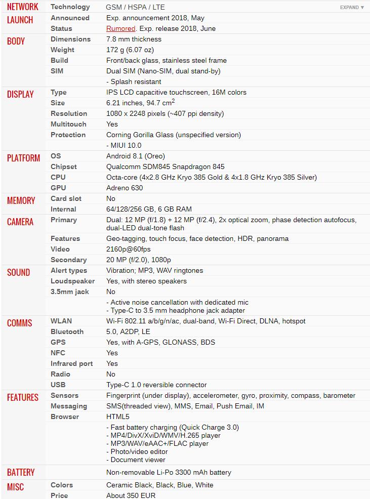 Xiaomi Mi 8 chính thức ra mắt 04