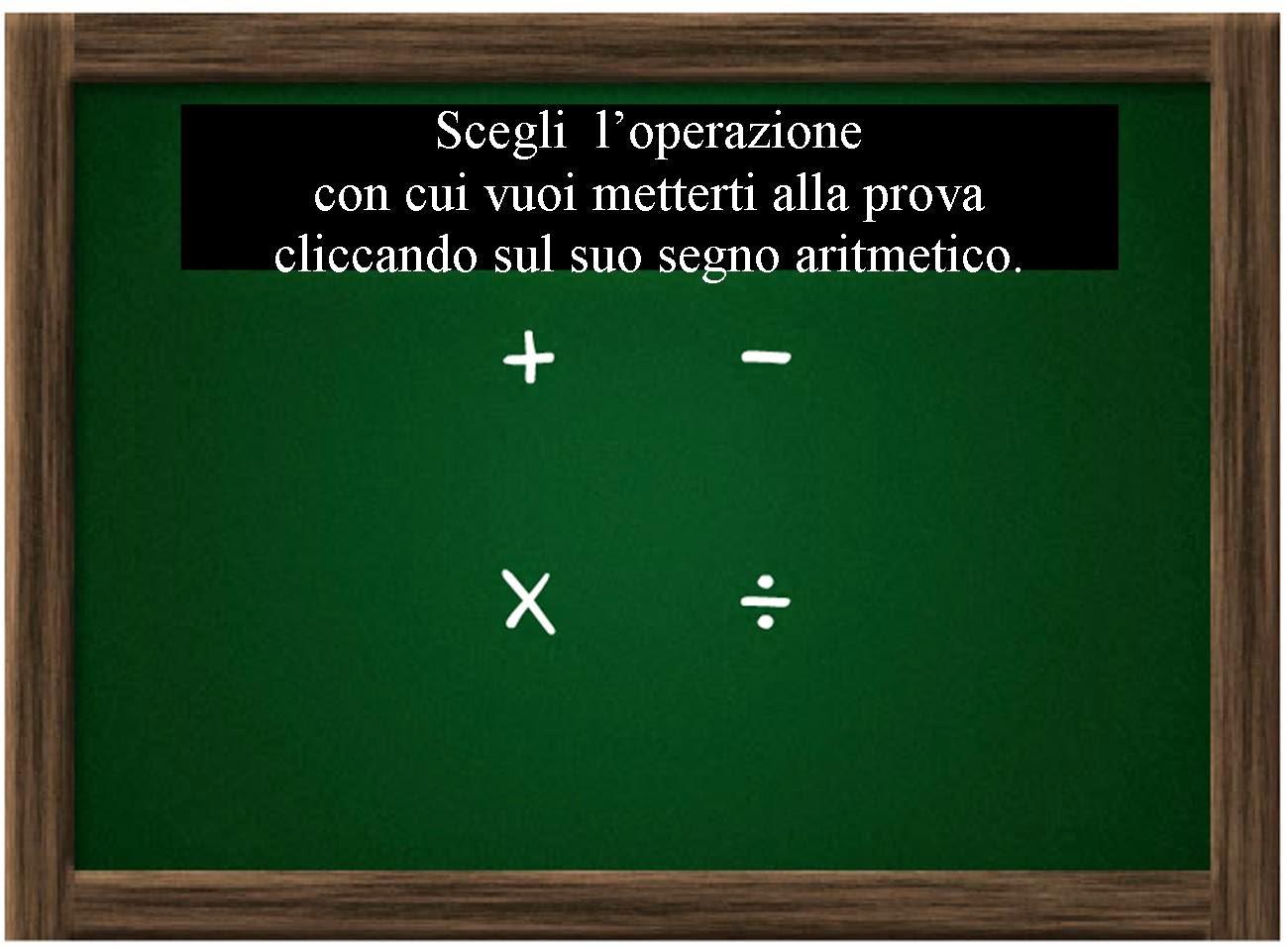 http://www.segnalidivita.com/le_tabelline/prova-aritmetica-a-tutto-schermo.htm