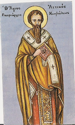 ST ATTICUS of Constantinople