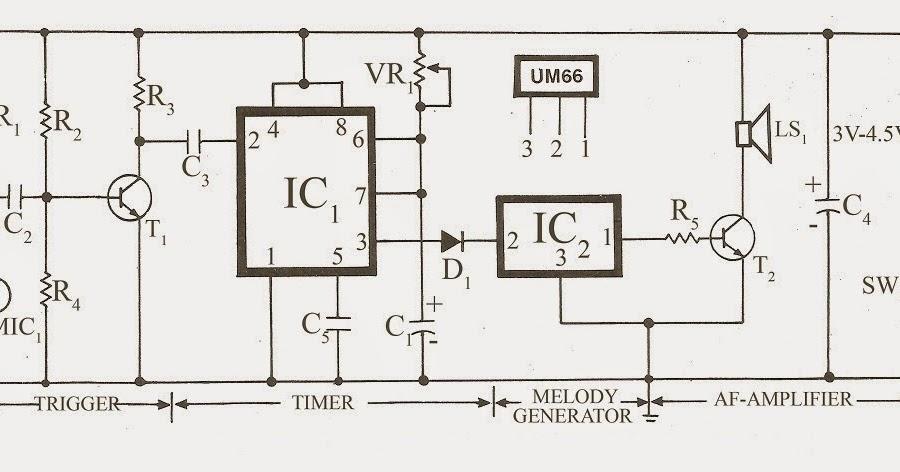 fish caller electronics circuit