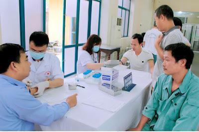 Lấy mẫu xét nghiệm huyết học