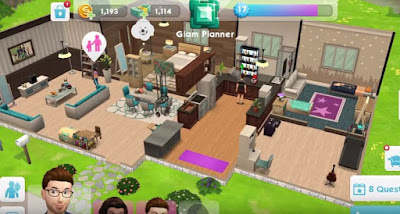 Organize, Start, End Part, The Sims Mobile