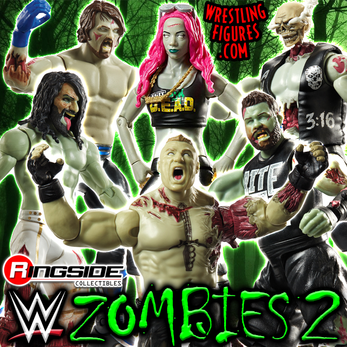 WWE Zombies Series 2 - Complete Set
