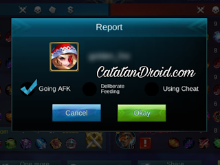 Cara Report Pemain AFK Feeder dan Trash Talk di Mobile Legends