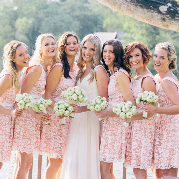 Do You Have Any Ideas Of Choosing What Kinds Dresses For Your Maids Honor Here I Recommend Some Simple Light Color Bridesmaid