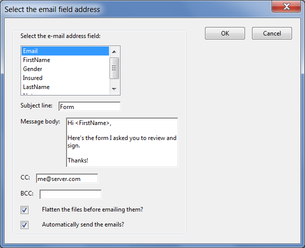 Custom-made Adobe Scripts: Acrobat -- Mail Merge and Email PDF Files