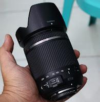 Jual Lensa Tamron 18-200 VC for Nikon