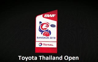 HSBC BWF World Tour Toyota Thailand Open Biss Key 13 July 2018