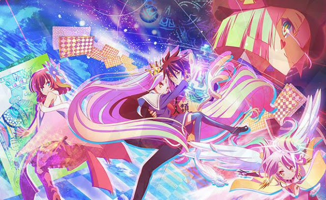 No Game No Life - Top Anime Overpower (Main Character Strong from the Beginning)