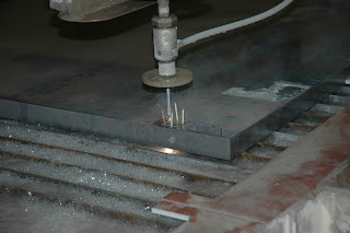 waterjet cutting titanium