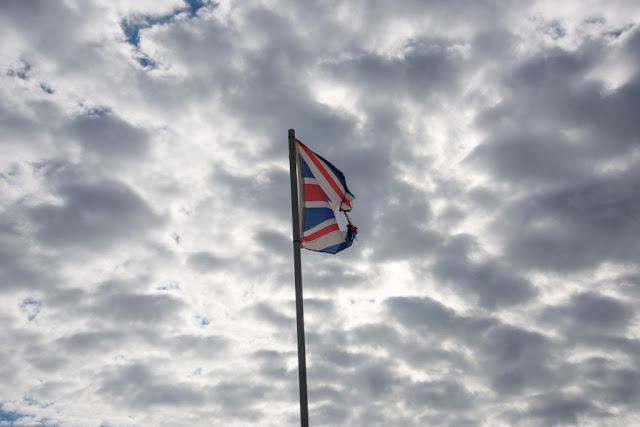 Ragged flag - copyright Chris Goddard