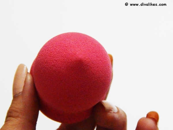 ALMON Pink Latex Free Blending Sponge Performance