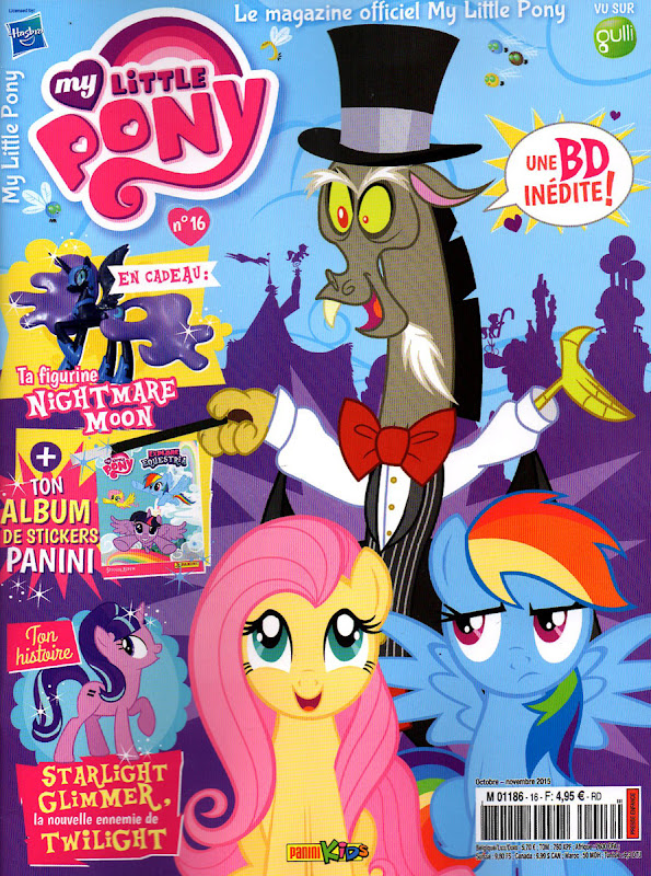 my little pony france magazine 2015 issue 16 mlp merch. Black Bedroom Furniture Sets. Home Design Ideas
