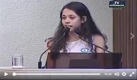 Estudante de 16 anos faz discurso poderoso e emocionante sobre as ocupações