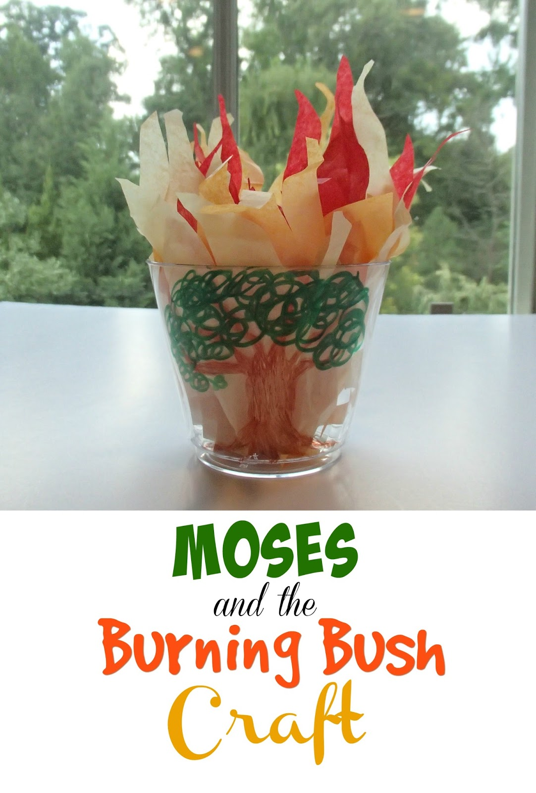 Easy Breezy Sunday School Moses And The Burning Bush