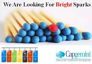 Urgent Fresher Job Openings for MBA Finance at Capgemini