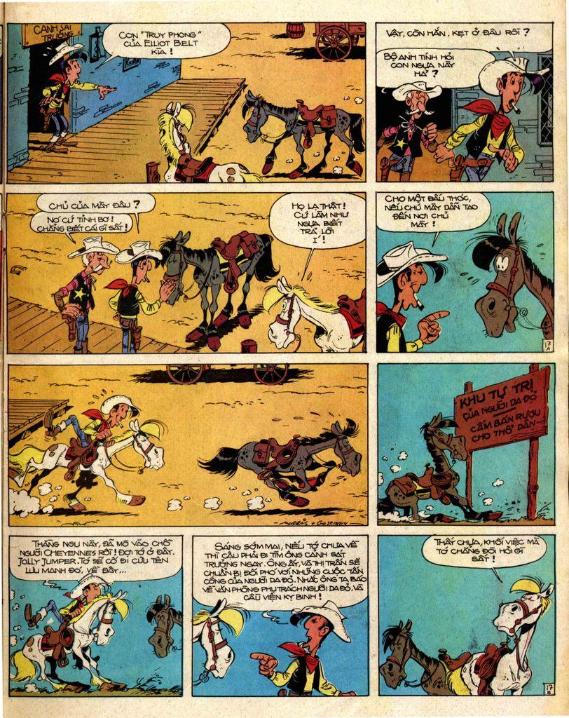 Lucky Luke tap 2 - ke san tien thuong trang 17