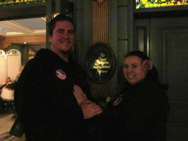 Real Disneyland Proposal at Blue Bayou Restaurant