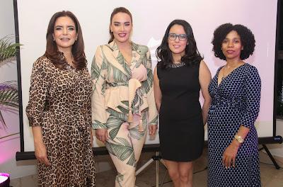 Ada Fernandez, Isaura Taveras, Ana Teresa Martínez y Celeste Olavarria.