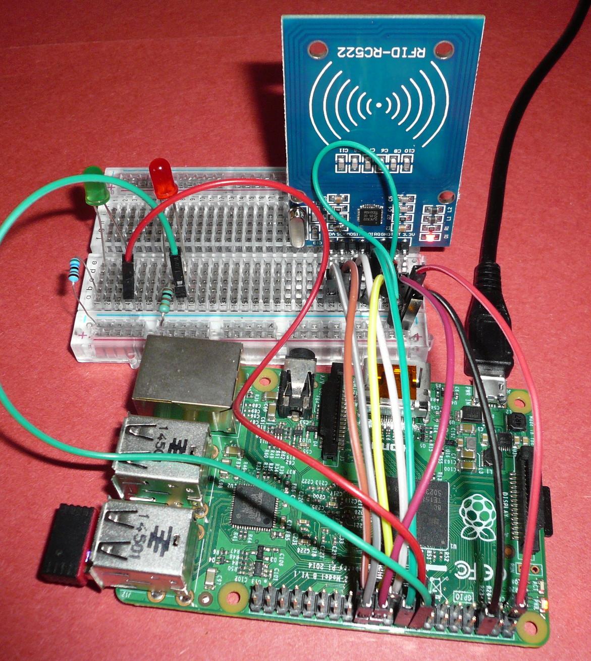 Électronique en amateur: Module RFID RC522 et Raspberry Pi (Python)