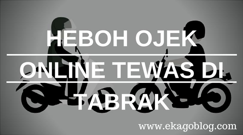 Heboh Ojek Online Tewas Di Tabrak Angkot