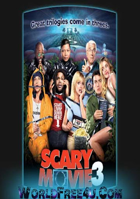 Poster Of Scary Movie 3 In Dual Audio Hindi English 300MB Compressed Small Size Pc Movie Free Download Only At worldfree4u.com