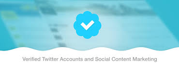be verified on twitter
