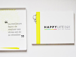 La Happy life box - Avril 2018