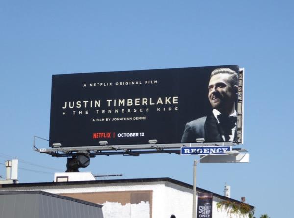 Justin Timberlake Tennessee Kids Netflix billboard