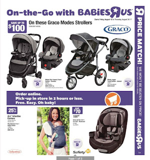 Babies R Us Flyer Baby Shower Gift Ideas valid August 18 - 24, 2017