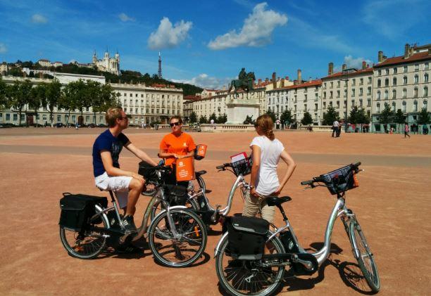 visiter lyon en vélo électrique