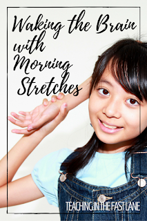 Are you or your students lagging in the morning? Try these morning stretches that cross the body's midline to put a little pep in your step and jumpstart the brain!