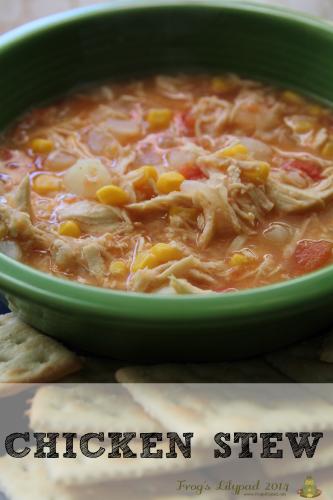 Chicken Stew Recipe l frogslilypad.net