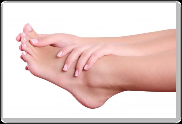 Afectiuni ale picioarelor: bataturile, crapaturile pielii, unghiile incarnate