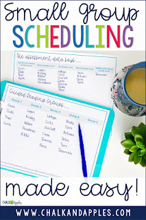 This simple step-by-step process will have your small groups scheduled in no time!