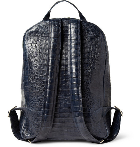 Santiago Gonzalez Crocodile Sac Backpack