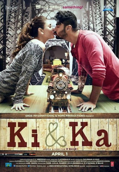 Poster Of Ki And Ka 2016 480p Hindi 1CD pDvDRip Full Movie Download