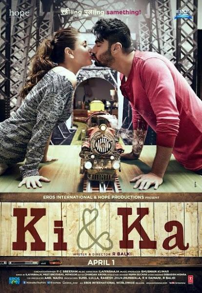 Poster of Ki And Ka 2016 480p Hindi 1CD pDvDRip Full Movie Download