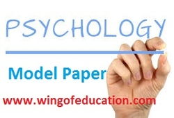 Psychology Model Paper-12 by Accurate Academy, Rajkot ~ wing