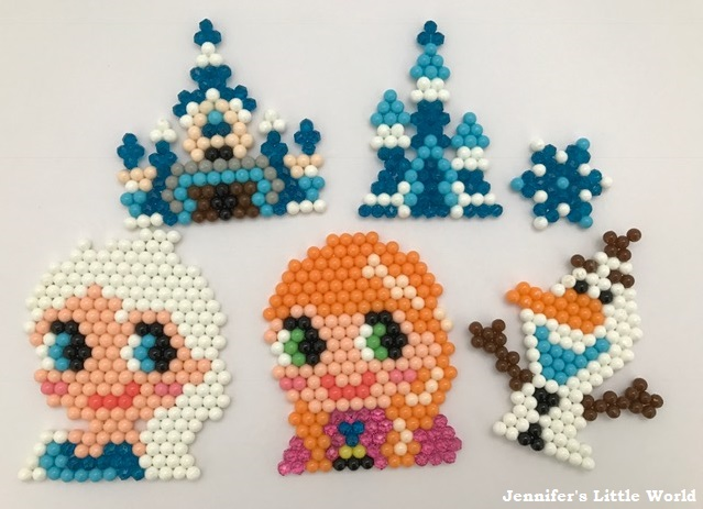 Jennifers Little World Blog Parenting Craft And Travel Review - Aquabeads templates