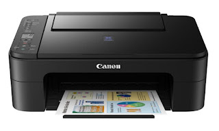 One printer amongst borderless photograph printing in addition to high render cartridges Canon PIXMA E3170 Drivers Download